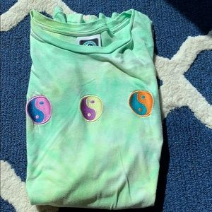 Tops - TUC Surf Design Yin and Yang Psychedelic Tee